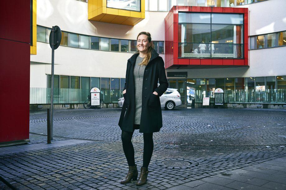 Elin Isaksson Tryggvård.se en webbplats från Sveriges läkarförbund. Med Trygg vård och tryggvård.se vill vi synliggöra Sveriges läkare.
