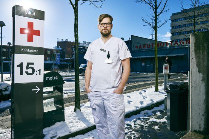 Jonathan Pontén Tryggvård.se en webbplats från Sveriges läkarförbund. Med Trygg vård och tryggvård.se vill vi synliggöra Sveriges läkare.