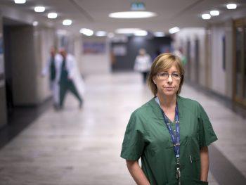 Karin Båtelson, Tryggvård.se en webbplats från Sveriges läkarförbund. Med Trygg vård och tryggvård.se vill vi synliggöra Sveriges läkare.
