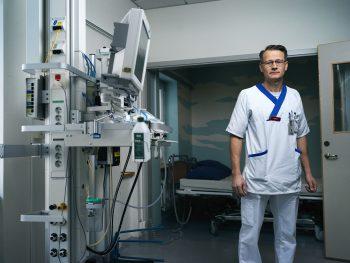 Fredrik Ahlsson, överläkare Akademiska barnsjukhuset, Uppsala