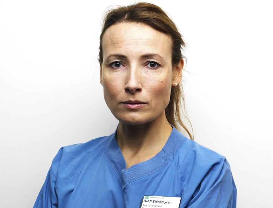 0335ab28931 Heidi Stensmyren, ordförande Sveriges läkarförbund Foto: Johan Knobe